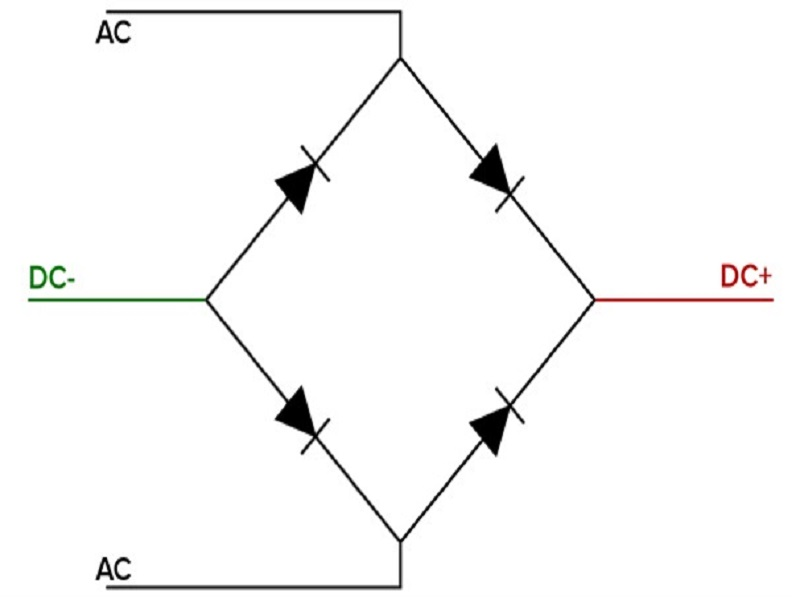 تبدیل ولتاژ AC به DC